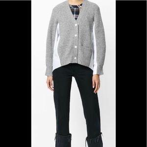 Sacai Wool Sweater shirt cardigan
